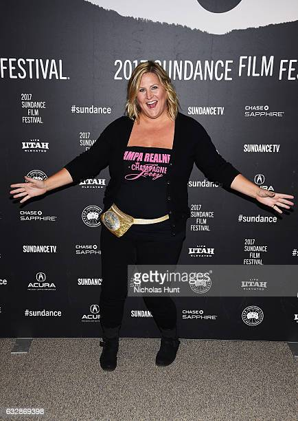 """Bridget Everett attends """"Fun Mom Dinner"""" Premiere during the 2017 Sundance Film Festival at Eccles Center Theatre on January 27, 2017 in Park City,..."""