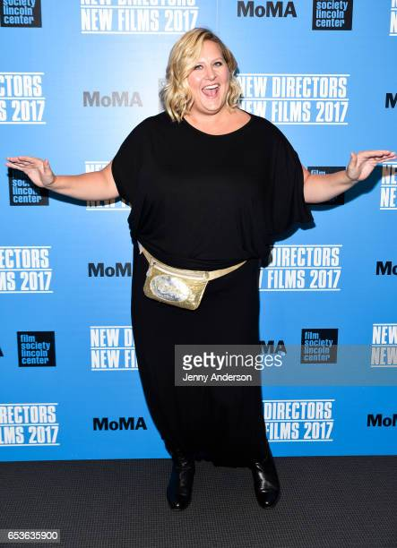 Bridget Everett attends New Directors/New Films 2017 opening night at The Museum of Modern Art on March 15, 2017 in New York City.