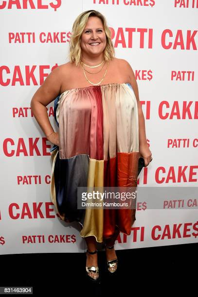 Bridget Everett attends the 'Patti Cake$' New York Premiere at The Metrograph on August 14 2017 in New York City
