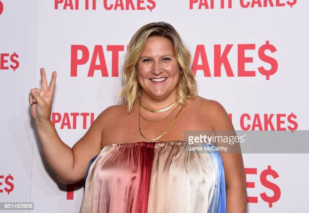 """Bridget Everett attends the """"Patti Cake$"""" New York Premiere at The Metrograph on August 14, 2017 in New York City."""