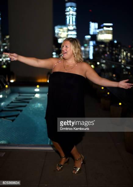 "Bridget Everett attends the screening Of ""Fun Mom Dinner"" at Landmark Sunshine Cinema on August 1, 2017 in New York City."
