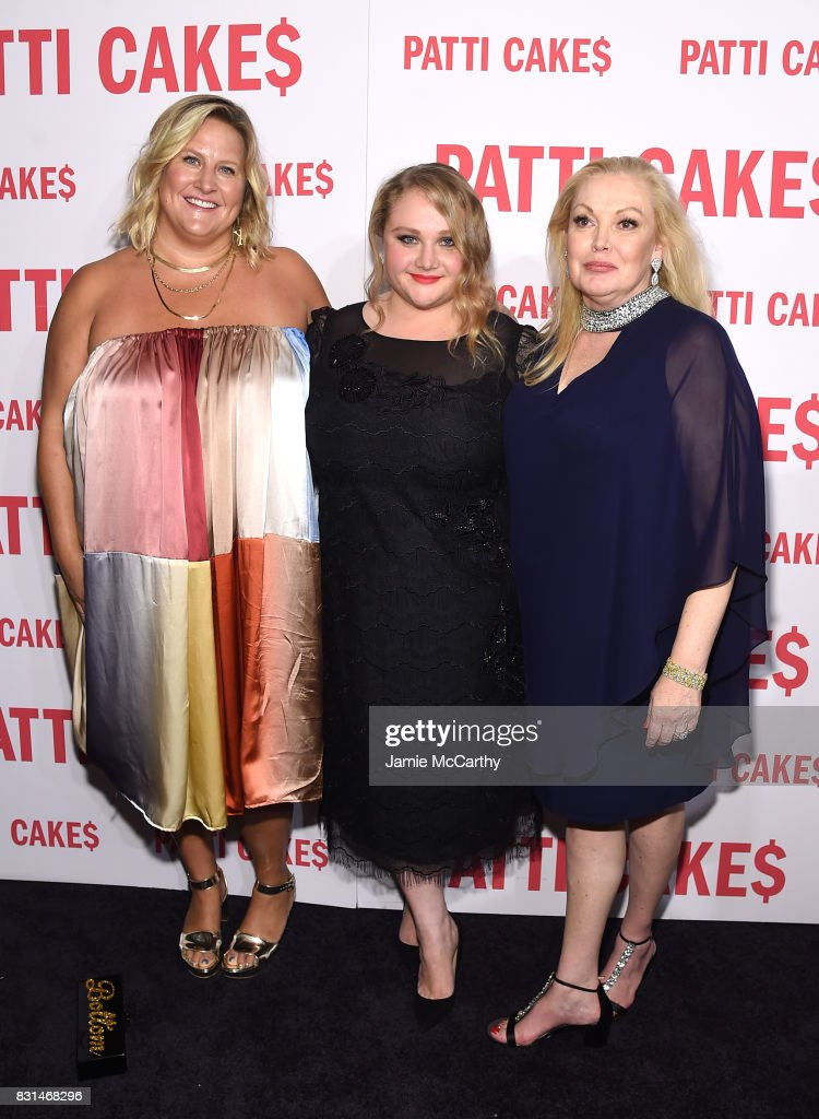 Bridget Everett, Danielle Macdonald and Cathy Moriarty attend the 'Patti Cake$' New York Premiere at The Metrograph on August 14, 2017 in New York City.