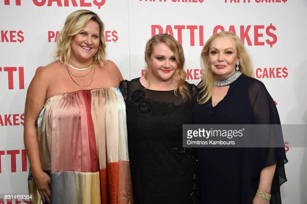 Bridget Everett Danielle Macdonald and Cathy Moriarty attend the Patti Cake$ New York Premiere at The Metrograph on August 14 2017 in New York City