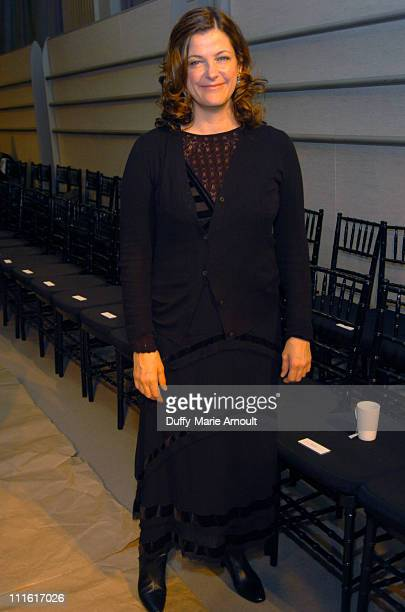 Bridget Foley of 'W' during Olympus Fashion Week Fall 2006 Dana Buchman Front Row and Backstage at 1441 Broadway Show Room in New York City New York...