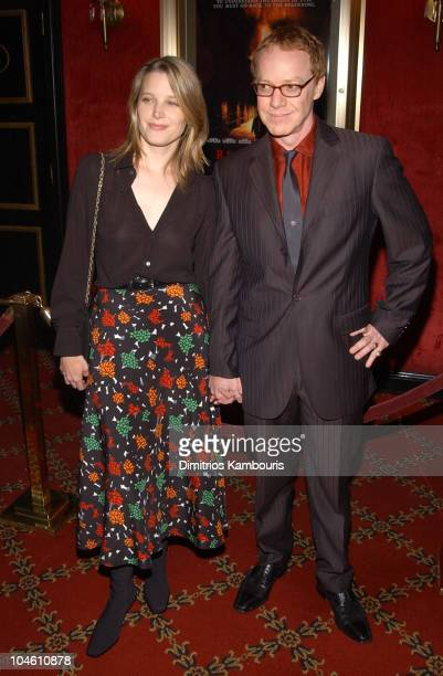 Bridget Fonda and composer Danny Elfman during Red Dragon New York City Premiere at Ziegfeld Theatre in New York City New York United States