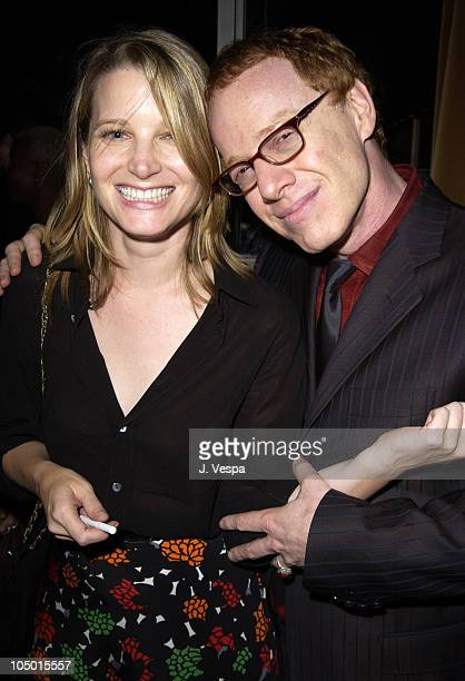 Bridget Fonda and composer Danny Elfman during Red Dragon Premiere After AfterParty at the Hudson Hotel at Hudson Hotel in New York New York United...