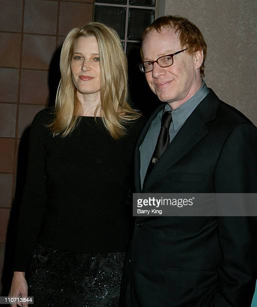 Bridget Fonda and Danny Elfman during 15th Annual Palm Springs International Film Festival Awards Gala-Arrivals at Palm Springs Convention Center in...