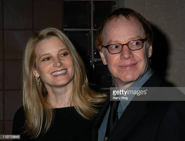 Bridget Fonda and Danny Elfman during 15th Annual Palm Springs International Film Festival Awards GalaArrivals at Palm Springs Convention Center in...