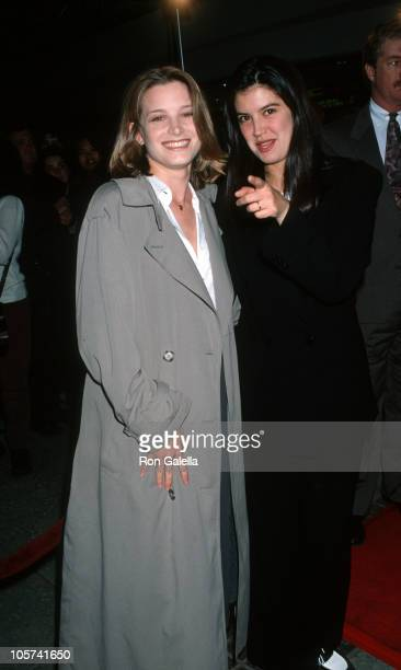 Bridget Fonda and Phoebe Cates during 'Bodies Rest Motion' Los Angeles Premiere at AMC Burbank 14 in Burbank California United States