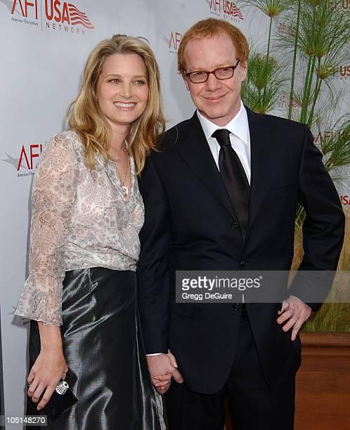 Bridget Fonda & Danny Elfman during 31st AFI Life Achievement Award Presented to Robert DeNiro - Arrivals at Kodak Theatre in Hollywood, California,...