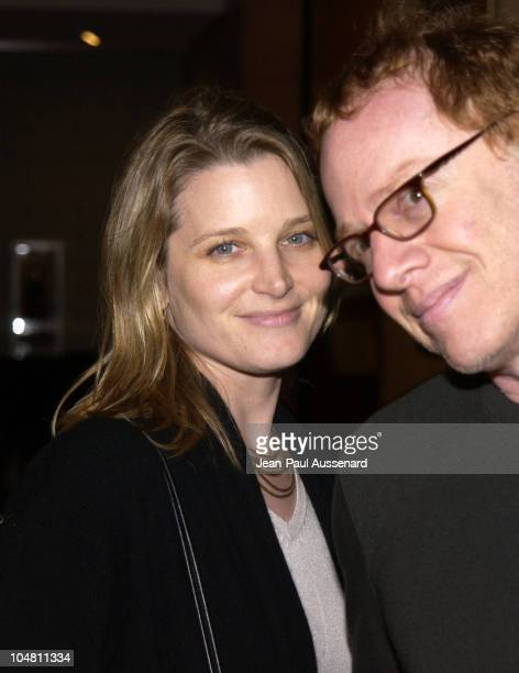 Bridget Fonda & Danny Elfman during Halloween Party at Le Meridien at Le Meridien Hotel in Beverly Hills, California, United States.