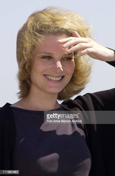 Bridget Fonda during Cannes 2001 Kiss of the Dragon Photo Call in Cannes France