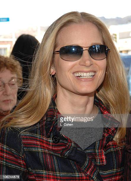 Bridget Fonda during Charlotte's Web Los Angeles Premiere Red Carpet at ArcLight Theatres in Hollywood California United States