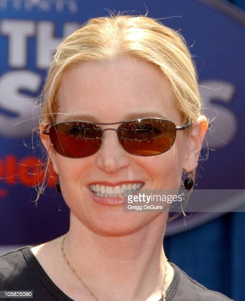 Bridget Fonda during Meet the Robinsons Los Angeles Premiere Arrivals at El Capitan Theater in Hollywood California United States