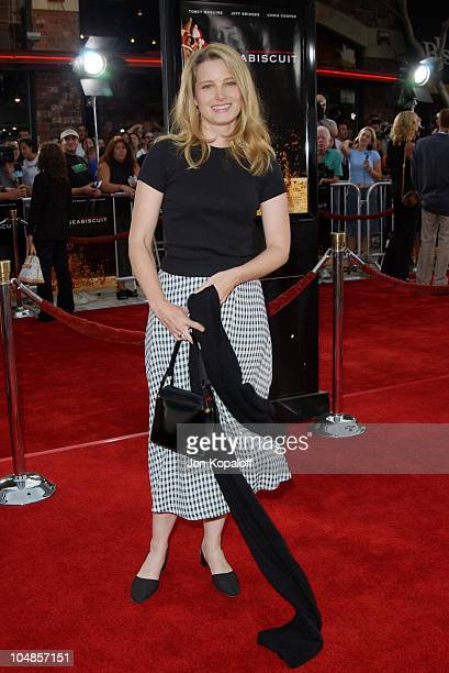 "Bridget Fonda during ""Seabiscuit"" Los Angeles Premiere at Mann's Bruin in Los Angeles, California, United States."