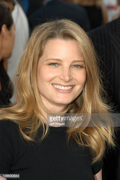 Bridget Fonda during Seabiscuit Los Angeles Premiere at Mann's Bruin in Los Angeles California United States