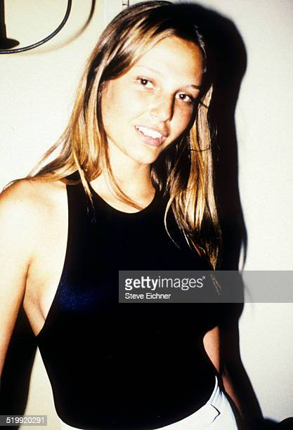 Bridget Hall at Nars Party New York March 4 1995