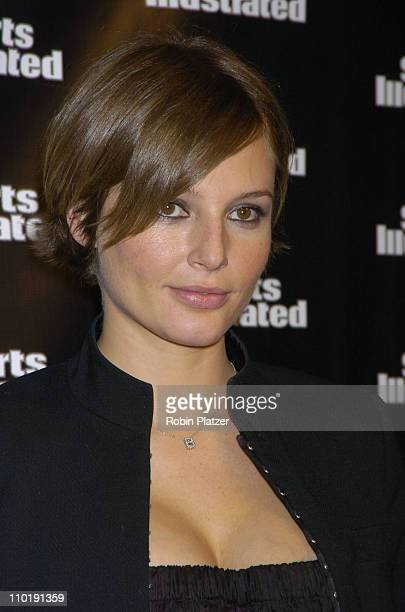 Bridget Hall during 2004 Sports Illustrated Swimsuit Issue 40th Anniversary Edition at Club Deep in New York City New York United States