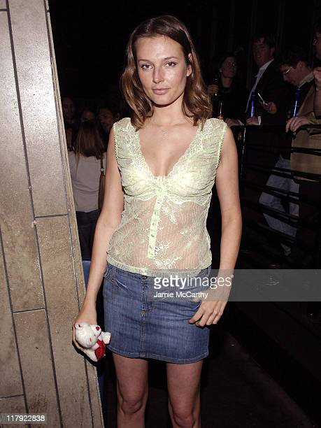 Bridget Hall during 2006 Sports Illustrated Swimsuit Issue After Party at Crobar in New York City New York United States