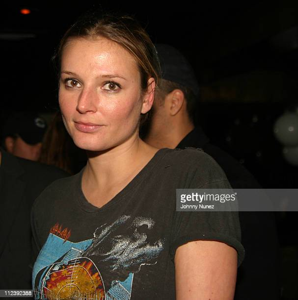 Bridget Hall during Bridget Hall Birthday Party at Hue in New York City New York United States