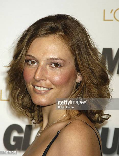 Bridget Hall during Glamour Magazine Salutes The 2005 Women of the Year Inside Arrivals at Avery Fisher Hall in New York City New York United States