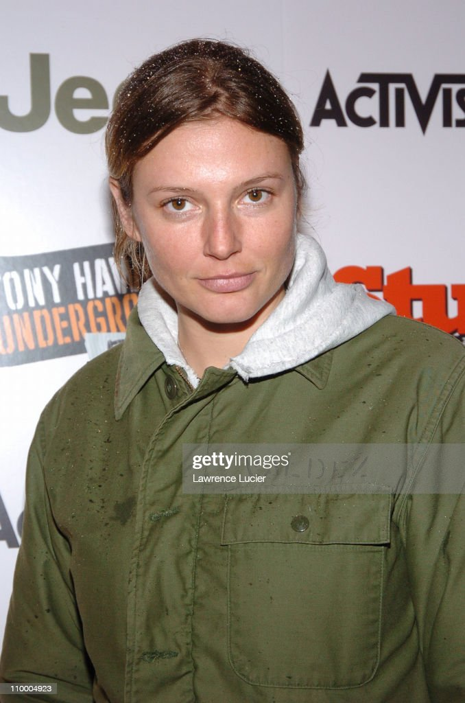 Bridget Hall during Jeep Activision and Stuff Magazine Launch Tony Hawk's Underground 2 Remix at Marquee in New York, New York, United States.