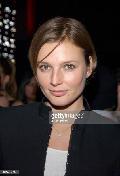Bridget Hall during Olympus Fashion Week Fall 2004 RED Valentino Dinner and Kick Off Party at Lot 61 in New York City New York United States