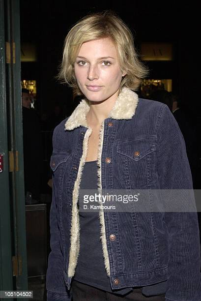Bridget Hall during Opening of Pradas New York Flagship Store at Prada Store SoHo in New York City New York United States