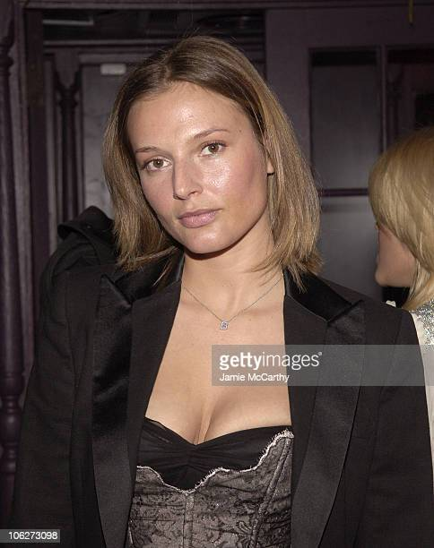 Bridget Hall during Stefano Gabbana's Birthday Celebration November 11 2005 at Bette in New York City New York United States