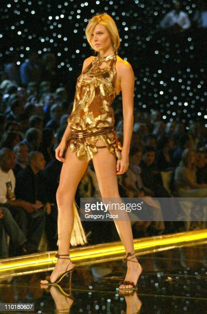 Bridget Hall during The 8th Annual Victoria's Secret Fashion Show Runway at Lexington Avenue Armory in New York City New York United States