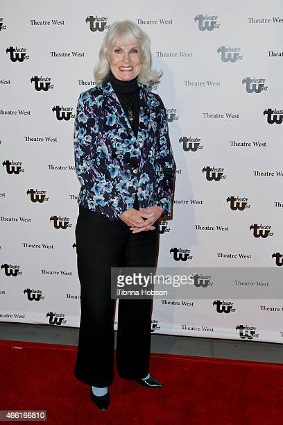 Bridget Hanley attends The 30th anniversary production of 'Verdigris' by Jim Beaver at Theatre West on March 13 2015 in Los Angeles California