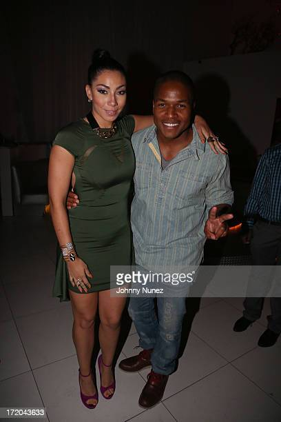 Bridget Kelly and Sheldon Candis attend BET Post Party at SupperClub Los Angeles on June 30 2013 in Los Angeles California