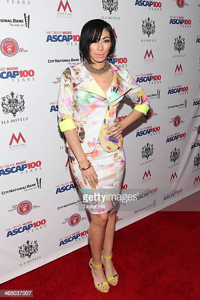 Bridget Kelly attends ASCAP's 2014 Grammy Nominee Brunch at SLS Hotel on January 25 2014 in Beverly Hills California
