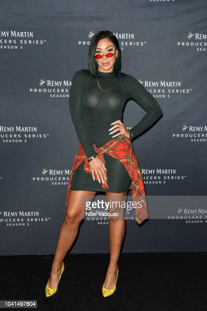 Bridget Kelly attends Remy Martin Crowns the Winner of Producers Series Season 5 with Big Sean Mustard on September 26 2018 in Los Angeles California