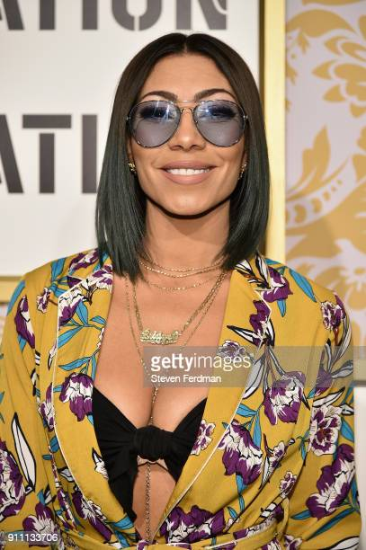 Bridget Kelly attends the 2018 Roc Nation PreGrammy Brunch at One World Trade Center on January 27 2018 in New York City