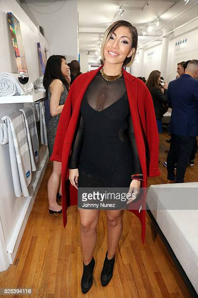 Bridget Kelly attends the Leesa Dream Home Gallery Preview Launch Event on April 27 2016 in New York City