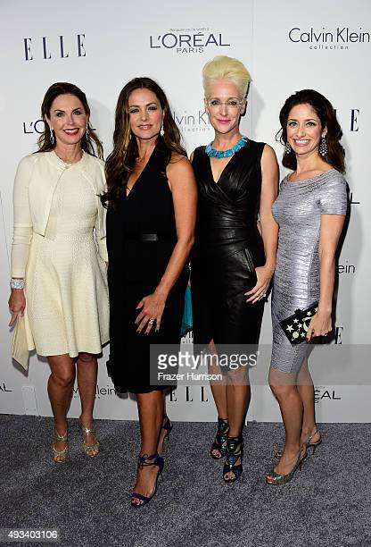 Bridget Koch Maria Valim Darlene Jordan and Desiree Luccio attend the 22nd Annual ELLE Women in Hollywood Awards presented by Calvin Klein Collection...