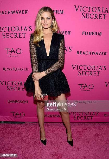 Bridget Malcolm attends the 2015 Victoria's Secret Fashion After Party at TAO Downtown on November 10 2015 in New York City