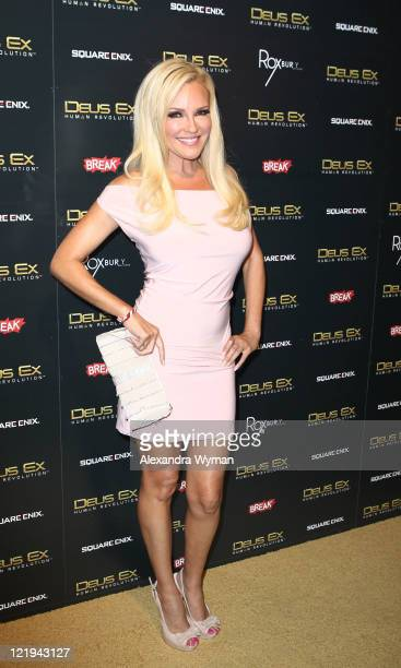 Bridget Marquardt at Deus Ex Human Revolution Gaming Launch Party held at The Roxbury on August 23 2011 in Hollywood California