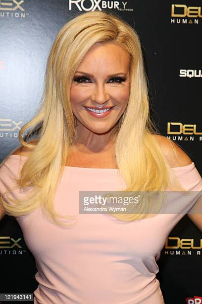 Bridget Marquardt at Deus Ex Human Revolution Gaming Launch Party held at The Roxbury on August 23, 2011 in Hollywood, California.