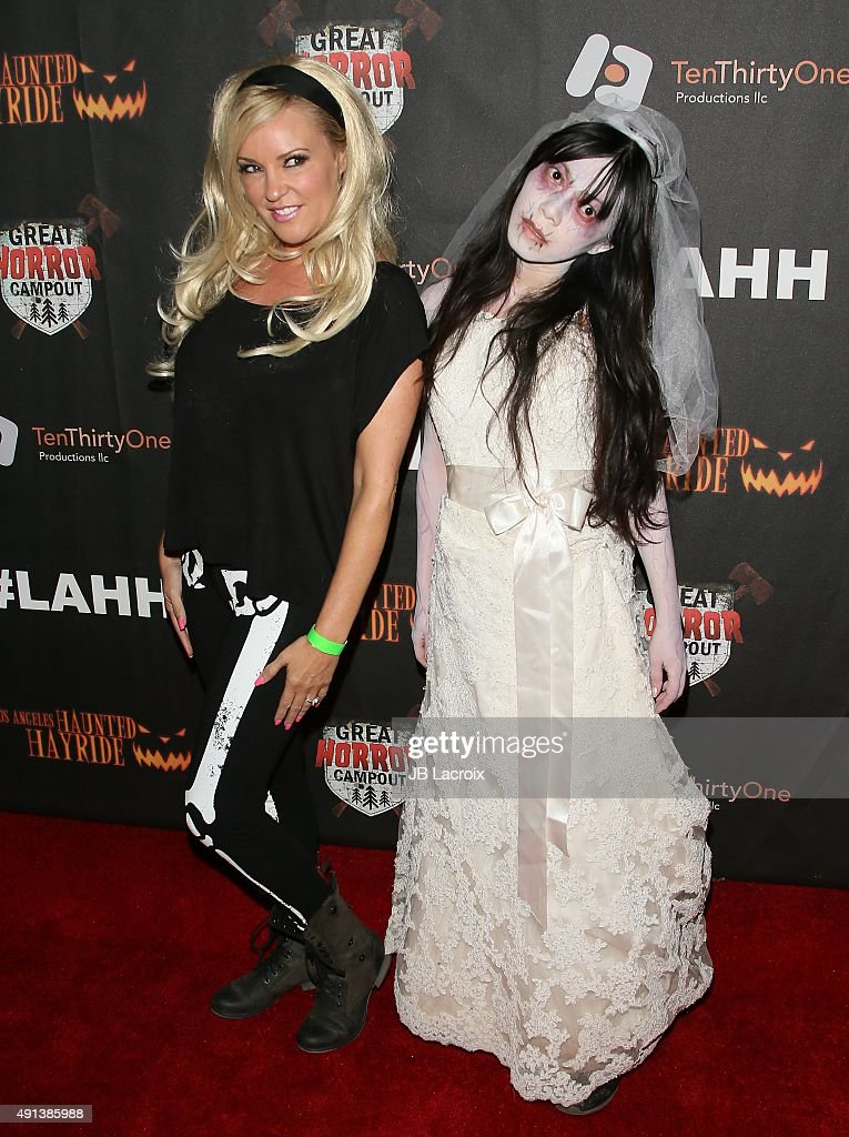 Bridget Marquardt attends the Los Angeles Haunted Hayride Black Carpet Premiere Night in Griffith Park on October 4, 2015 in Los Angeles, California.