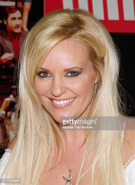 Bridget Marquardt during The Girls Next Door InStore DVD and Magazine Autograph Signing at Tower Records on Sunset in West Hollywood California...