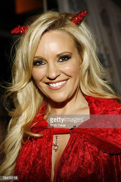 Bridget Marquardt from The Girls Next Door attends the Open Casket Call For The Next Elvira at the Queen Mary on Friday July 13 2007 in Long Beach...