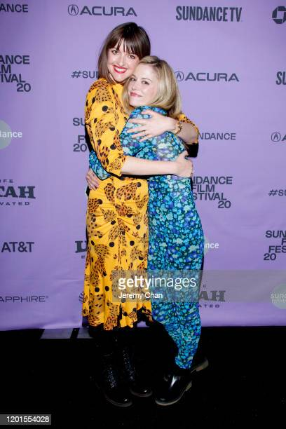 Bridget Moloney and Claire Coffee of Blocks attend attends the Shorts Program 1 during the 2020 Sundance Film Festival at Prospector Square Theatre...