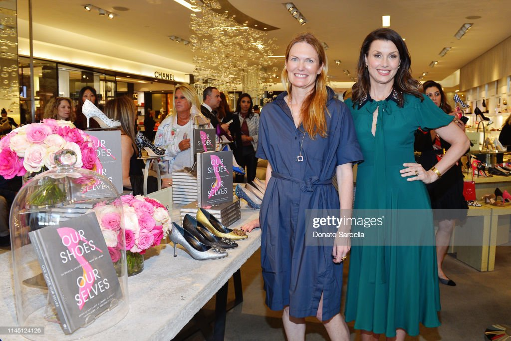 CA: Saks Beverly Hills Celebrates Our Shoes, Our Selves Book Launch With Bridget Moynahan And Amanda Benchley
