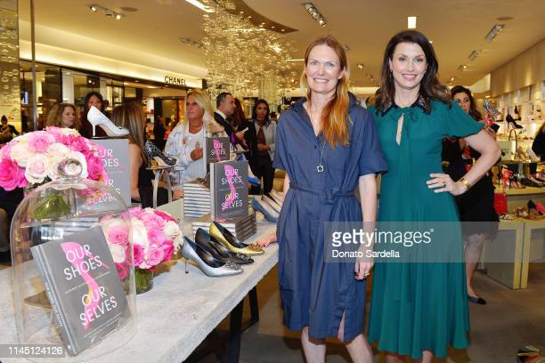 Bridget Moynahan and Amanda Benchley attend Saks Beverly Hills Celebrates Our Shoes Our Selves Book Launch with Bridget Moynahan and Amanda Benchley...