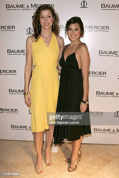 Bridget Moynahan and JamieLynn Sigler during Art Basel Miami Beach 2006 Baume Mercier 2006 Preview hosted by Bridget Moynahan at Raleigh Hotel in...