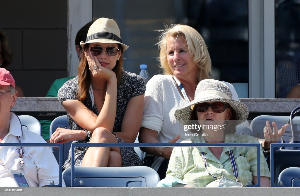 Bridget Moynahan and Jill Smoller, agent of Serena Williams, attend Day 3 of the 2014 US Open at USTA Billie Jean King National Tennis Center on August 27, 2014 in the Flushing neighborhood of the Queens borough of New York City.