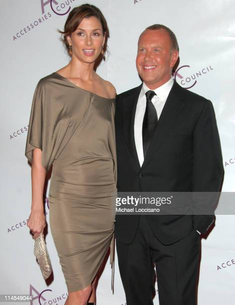 Bridget Moynahan and Michael Kors during 10th Annual Ace Awards Arrivals at Cipriani 42nd Street in New York City New York United States