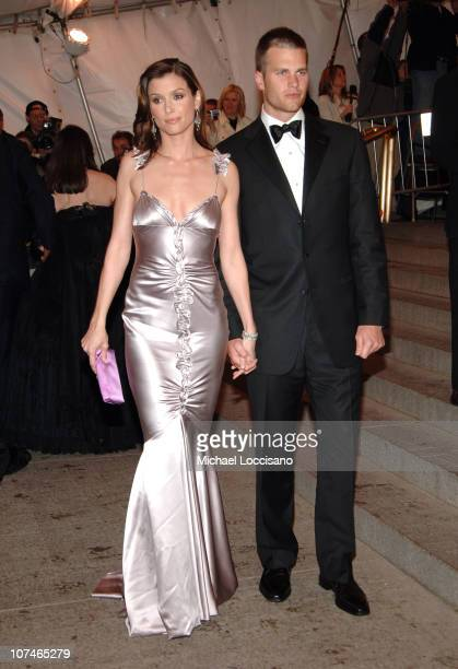 Bridget Moynahan and Tom Brady during Chanel Costume Institute Gala Opening at the Metropolitan Museum of Art Arrivals at Metropolitan Museum of Art...